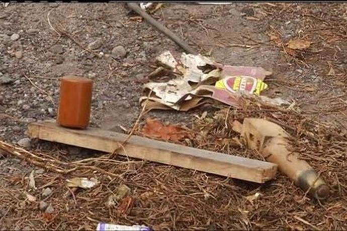 Illegal Dumping in WB Twp  September 2, 2014_-1567572517615025759