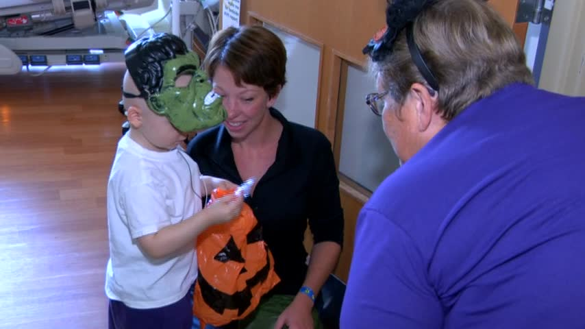 Halloween at the Hospital