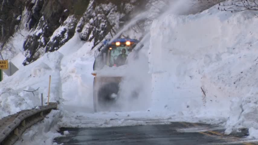 Roads Remain Closed After Blizzard_57193812
