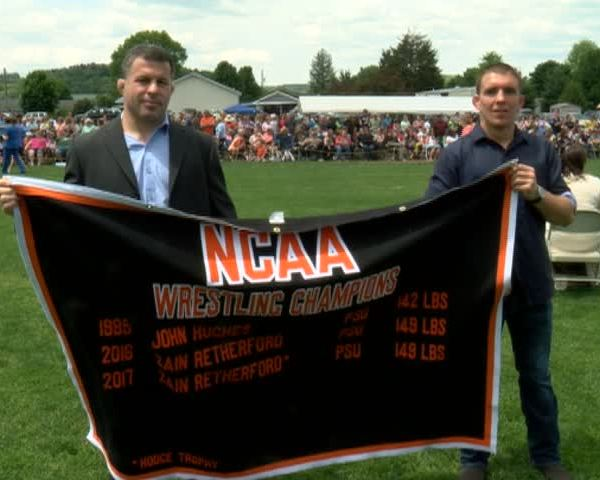National Champ Retherford Honored in Benton_03816544