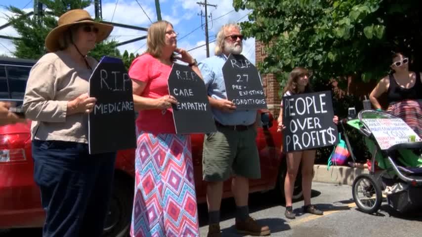 Marino Health Care Protests 5 pm_80416517