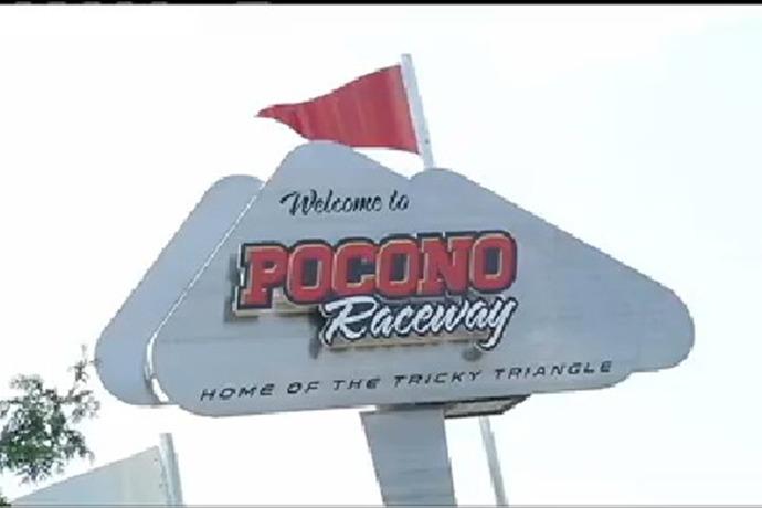 Pocono Raceway Sign_-1780547568770921101