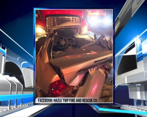 Three injured in crash