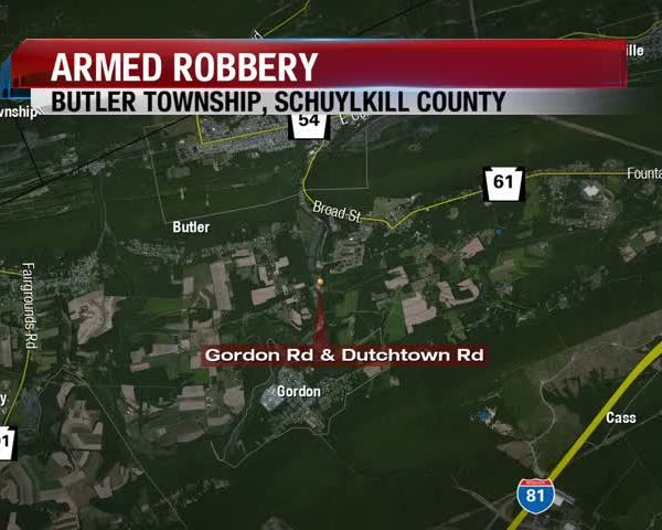Butler Twp Robbery 5 am