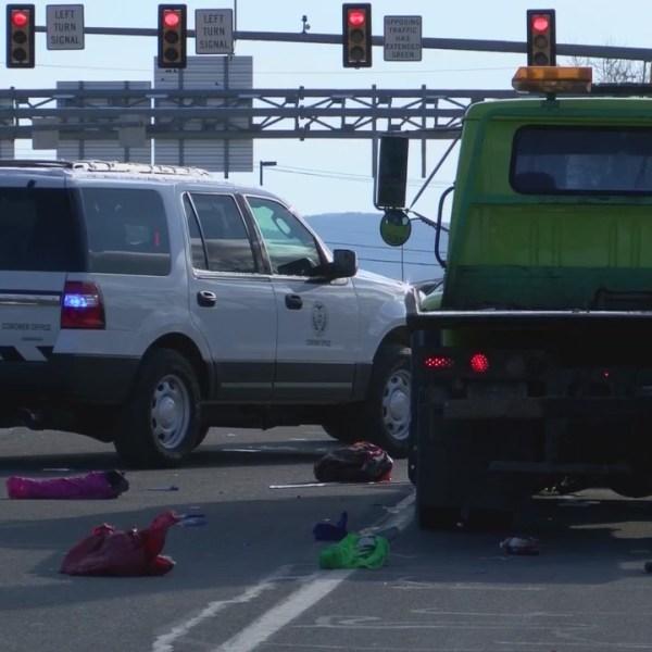 Tow Truck Hits Pedestrian