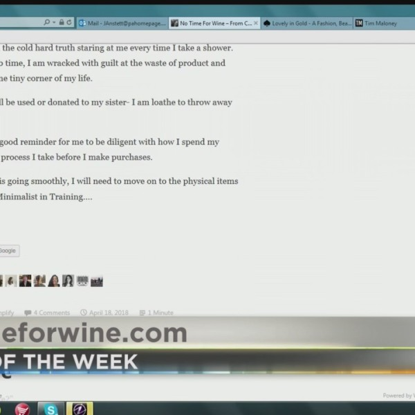PA Live: Blog of the Week (No Time for Wine) June 5, 2018