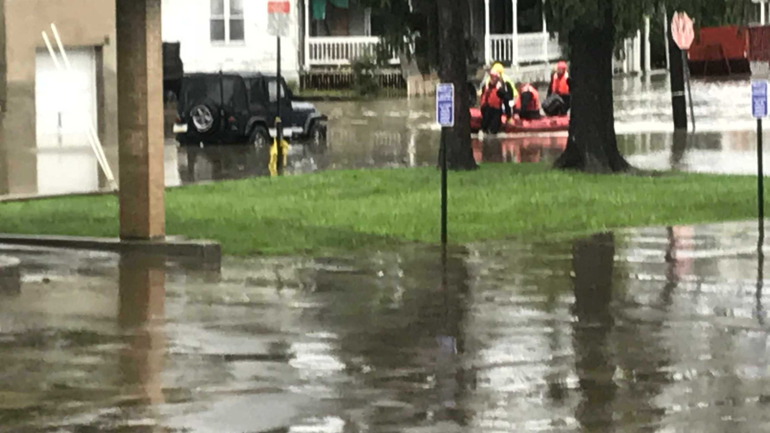 Widespread flooding reported across Central and NE Pennsylvania Monday