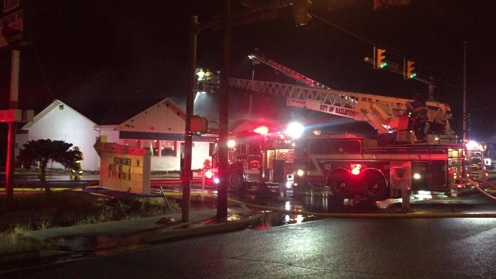 Beltway Diner Fire