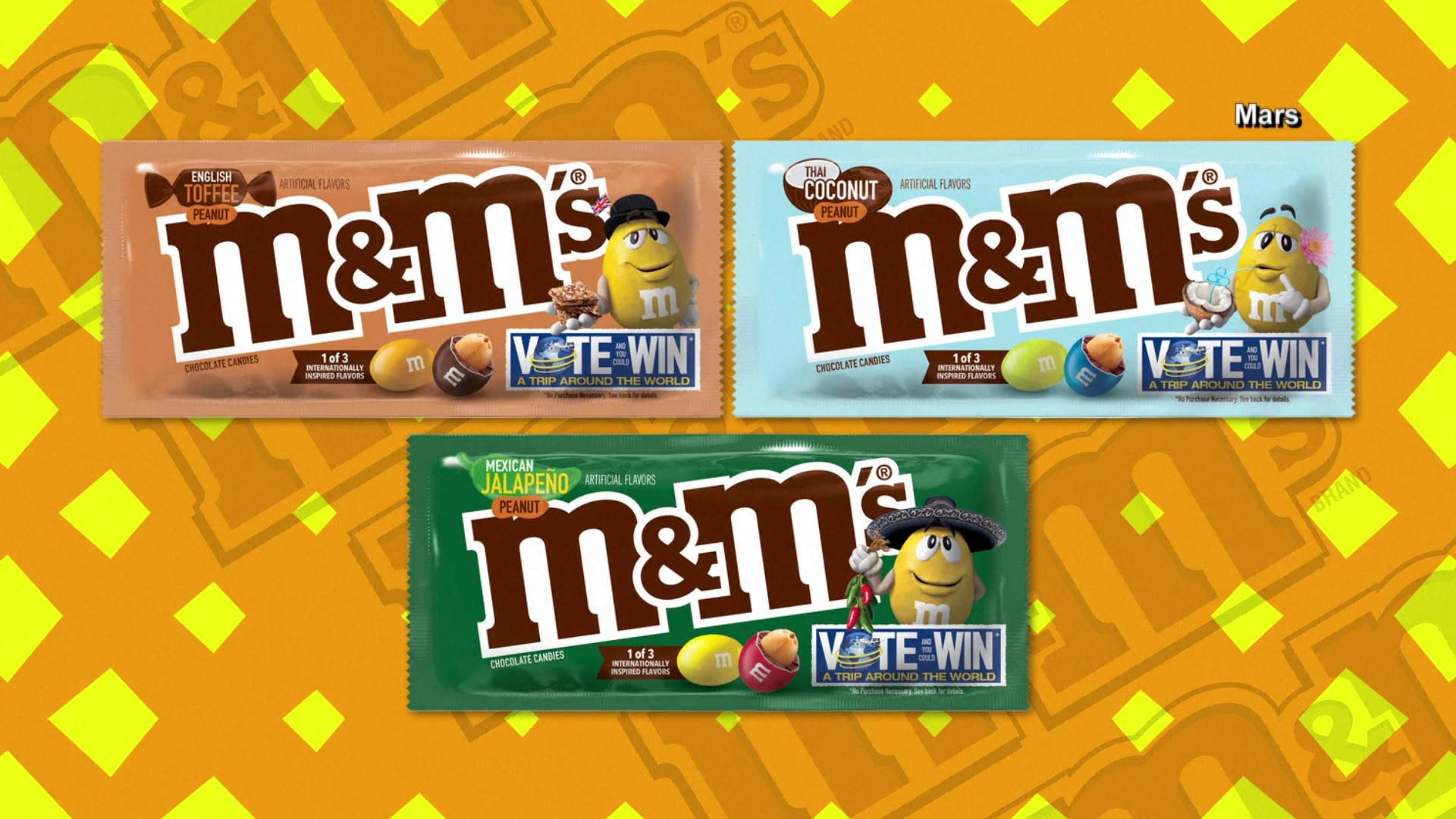 New M M Flavors Debuting This Week