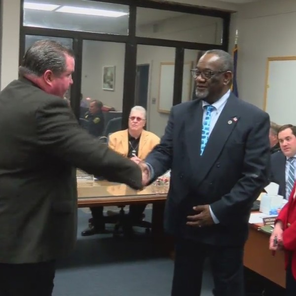Mayor Johnson honored