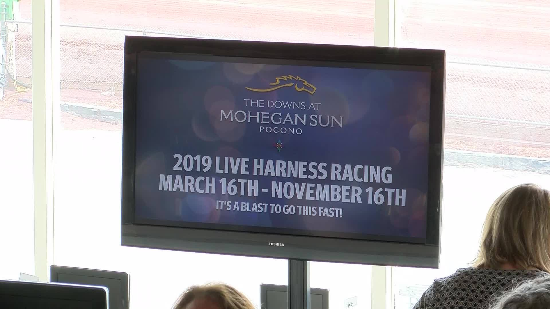 Pocono Downs Live Video