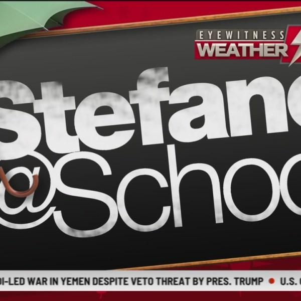 Stefano at School