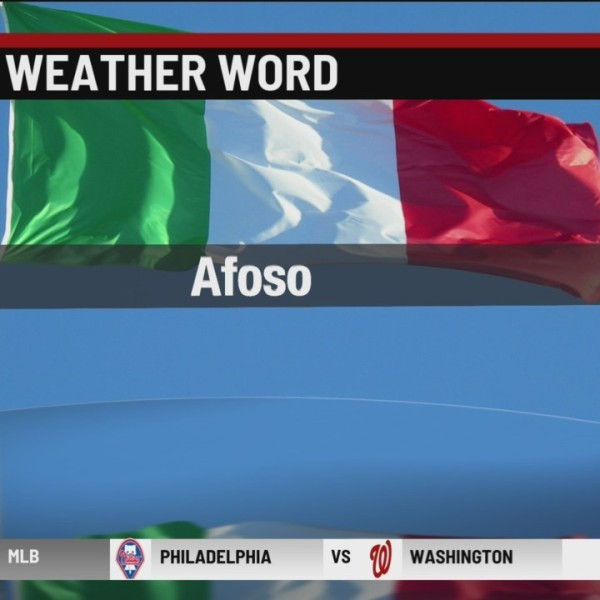 Italian Weather Word