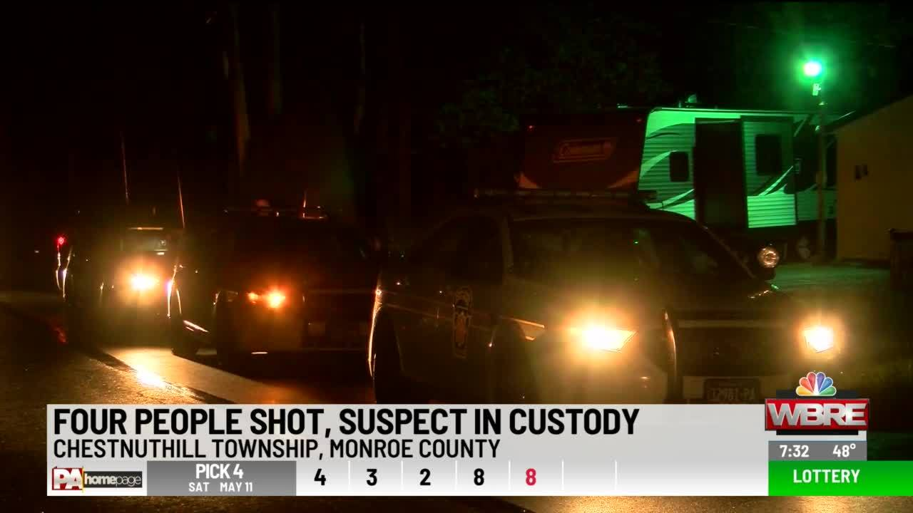 Four Shot in Monroe County, Suspect Arrested