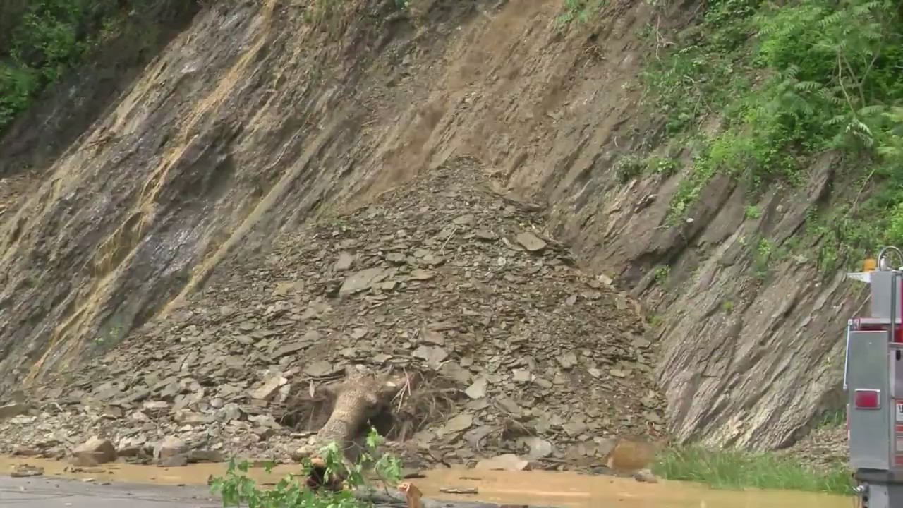 Rock Slide Route 11