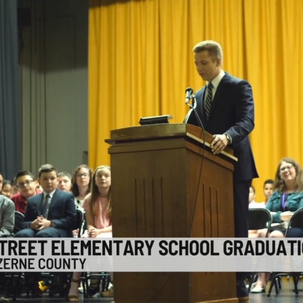 Stefano at School: Chester Street Elementary Graduation