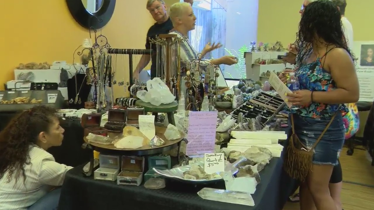 Psychic fair helps visitors experience their spiritual side