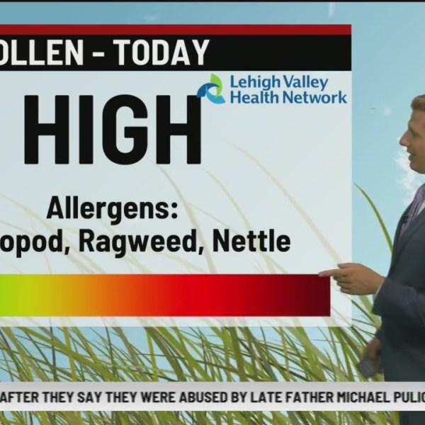Allergy Alert: August 29, 2019
