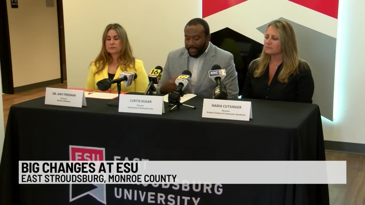 ESU Changes Student Drinking Policy | PAhomepage com