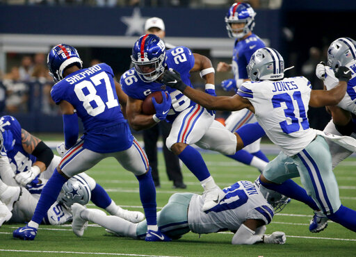 Sterling Shepard, Saquon Barkley, Byron Jones