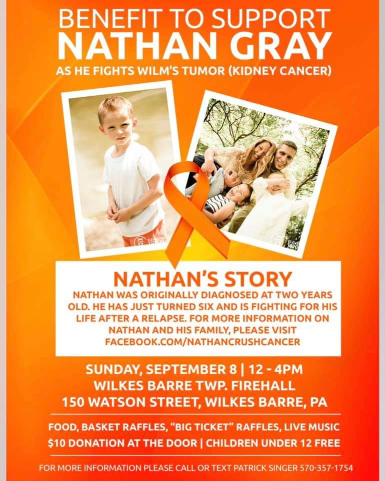 Benefit for Nathan Gray