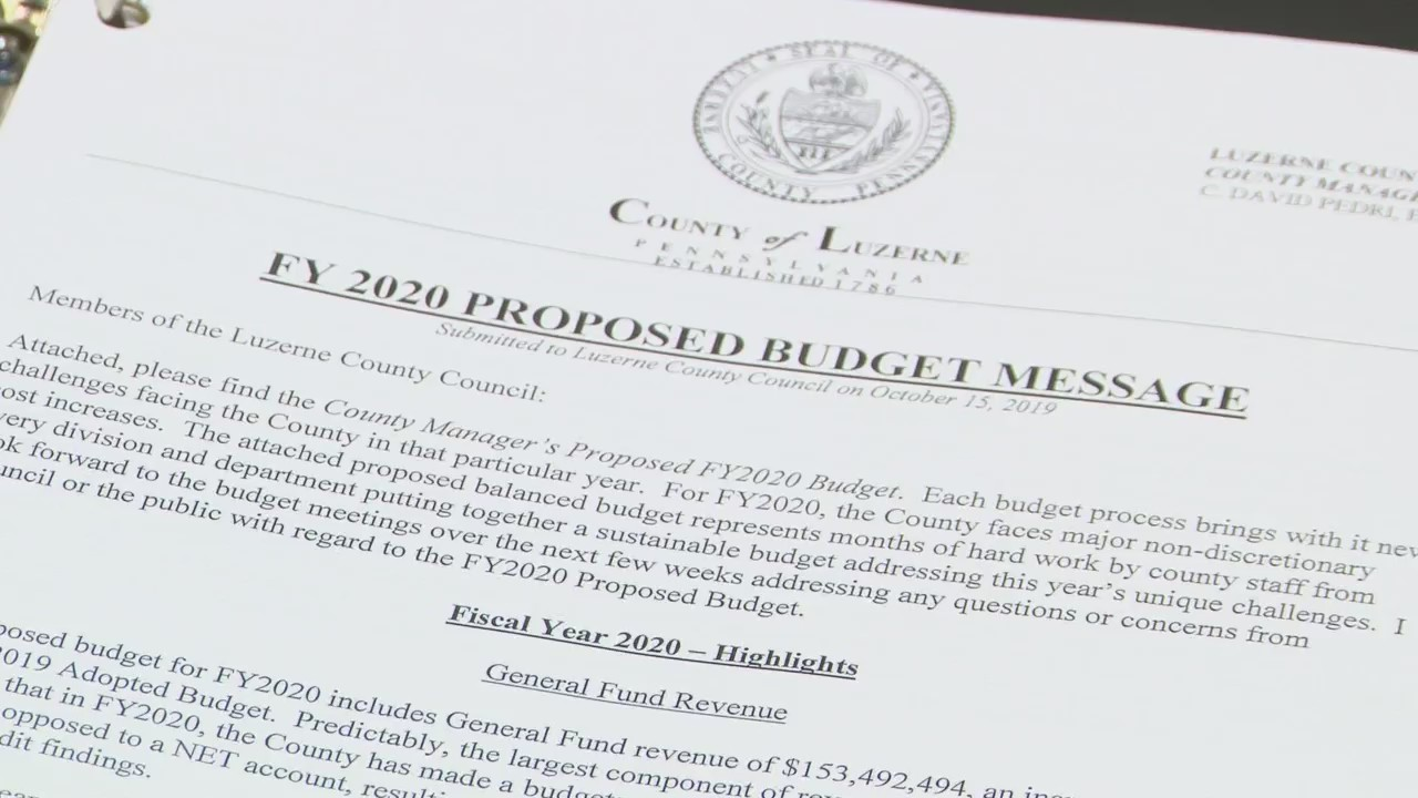 5 Percent Property Tax Increase Coming To Luzerne County Pahomepage Com