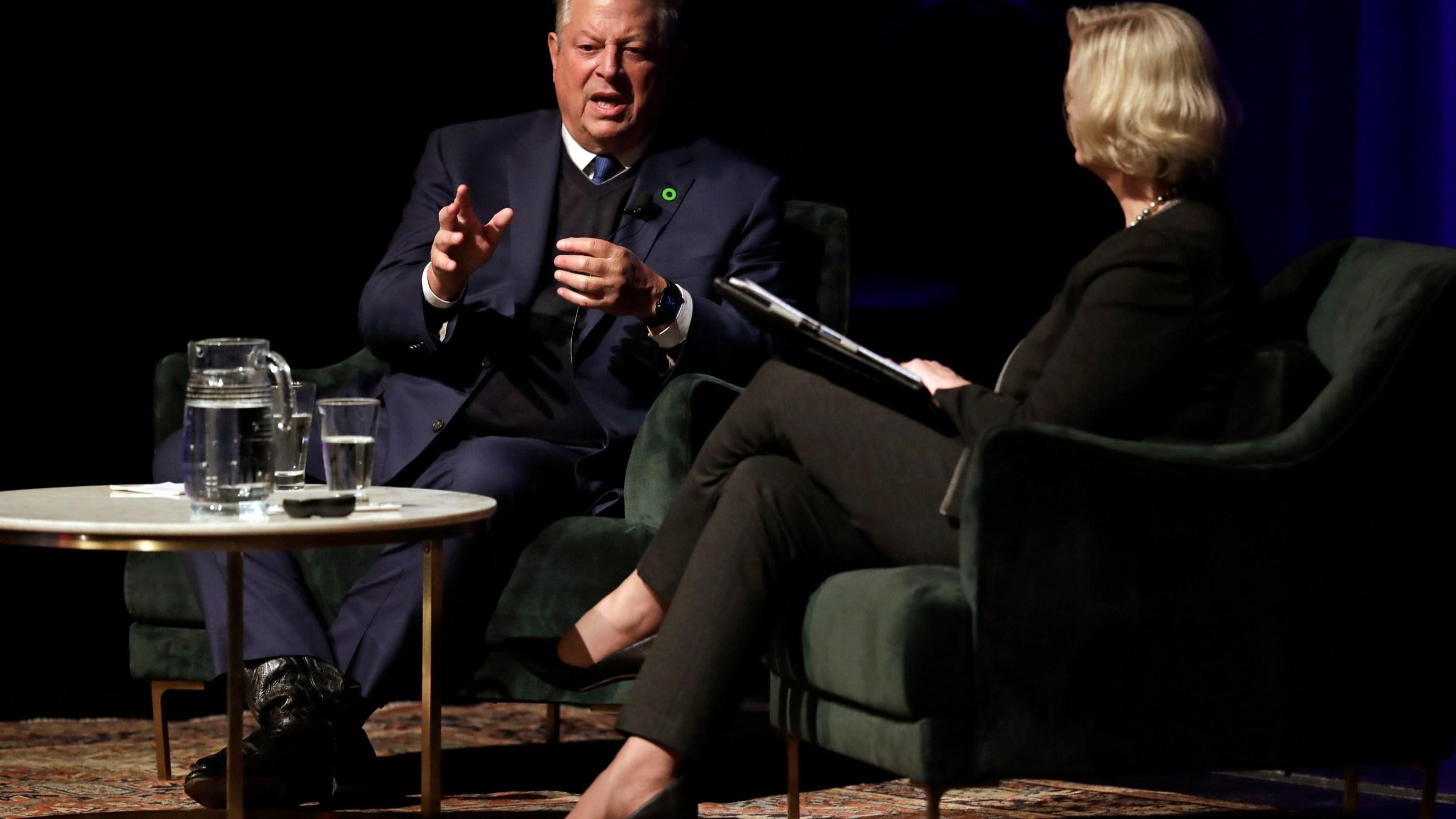 Al Gore, Susan Wente