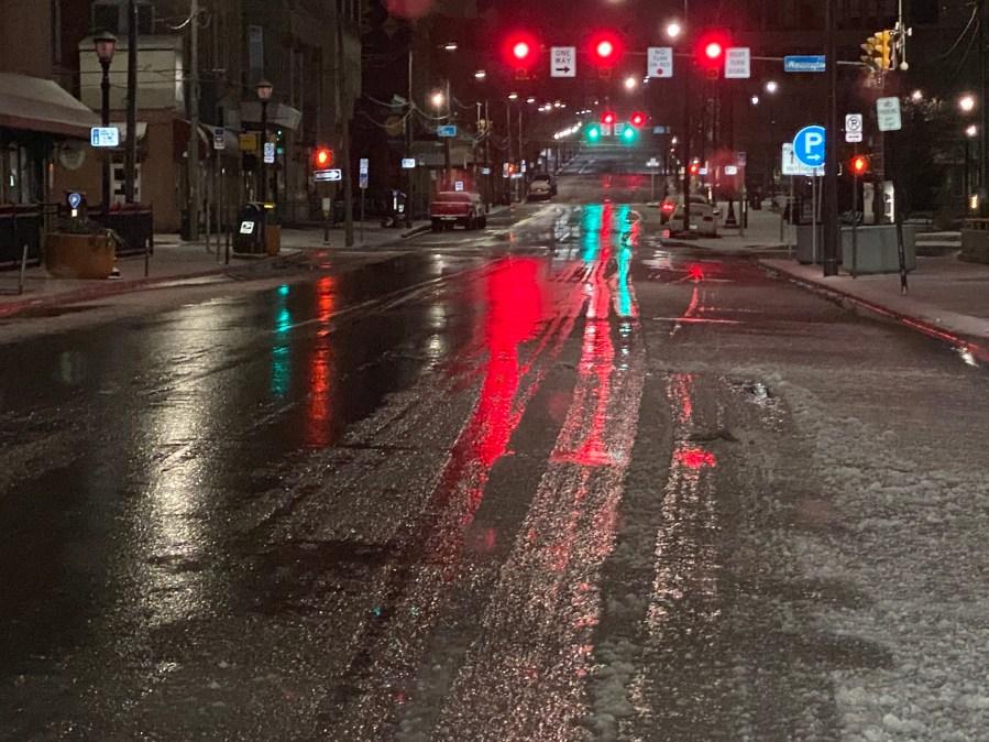 Slushy Scranton Streets