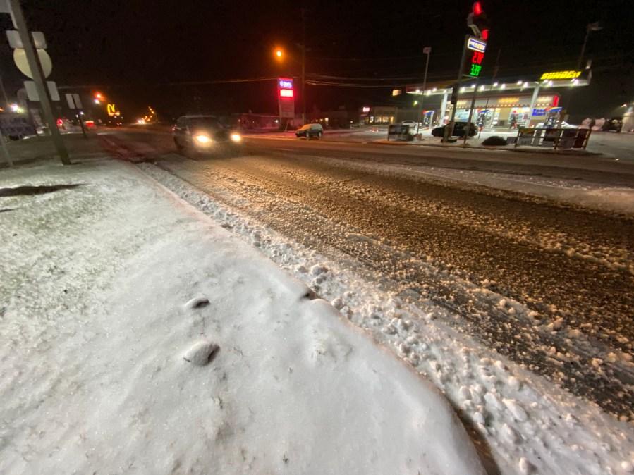 Slushy Roads in Susquehanna County