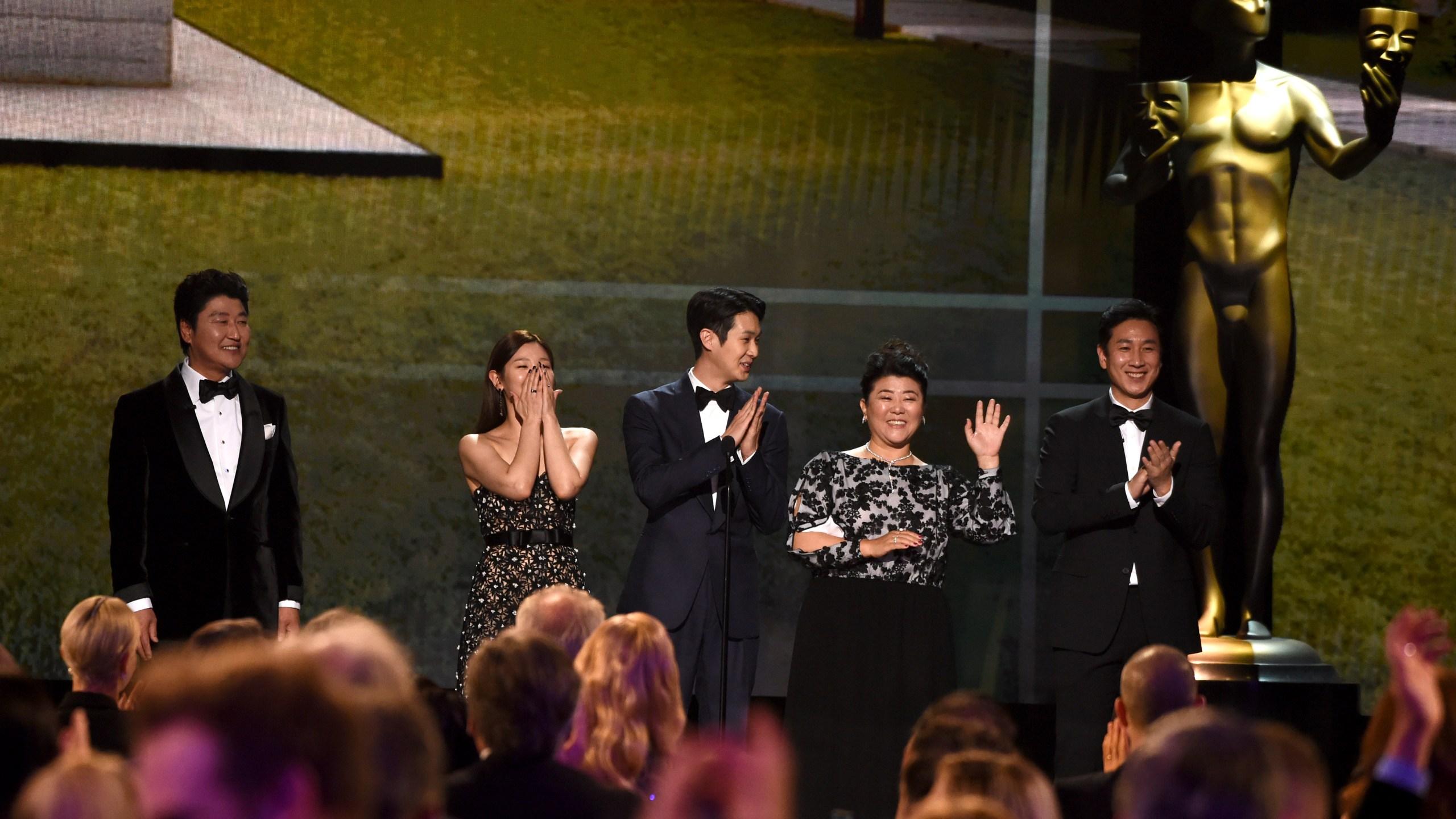 Kang-Ho Song, Park So Dam, Choi Woo-shik, Lee Jeong-eun, Lee Sun Gyun