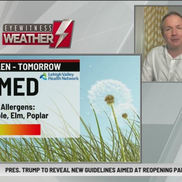 Allergy Alert: April 16 2020