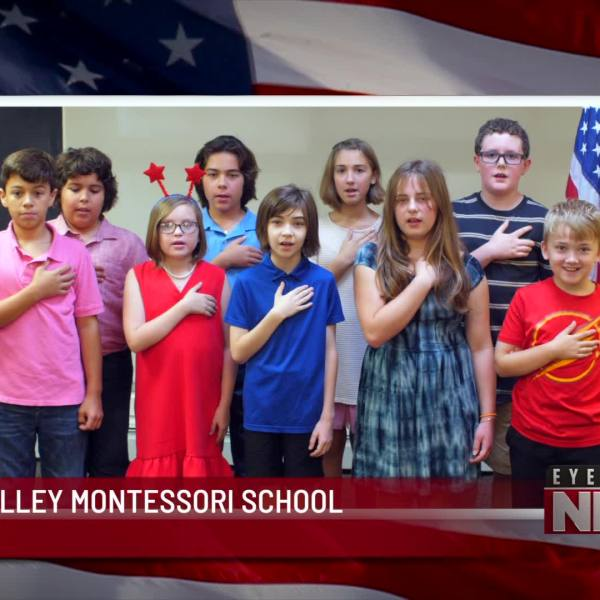 WYOMING VALLEY MONTESSORI SCHOOL CLASS ONE PLEDGE OF ALLEGIANCE