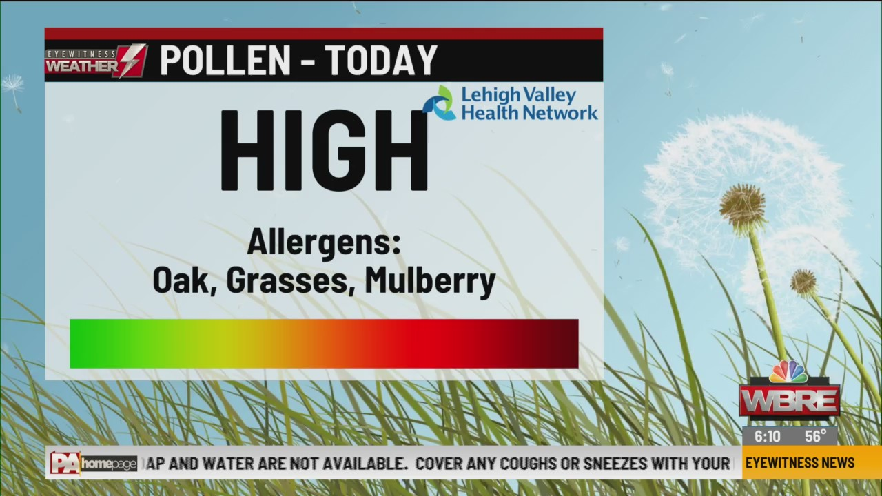 Allergy Alert: May 25, 2020
