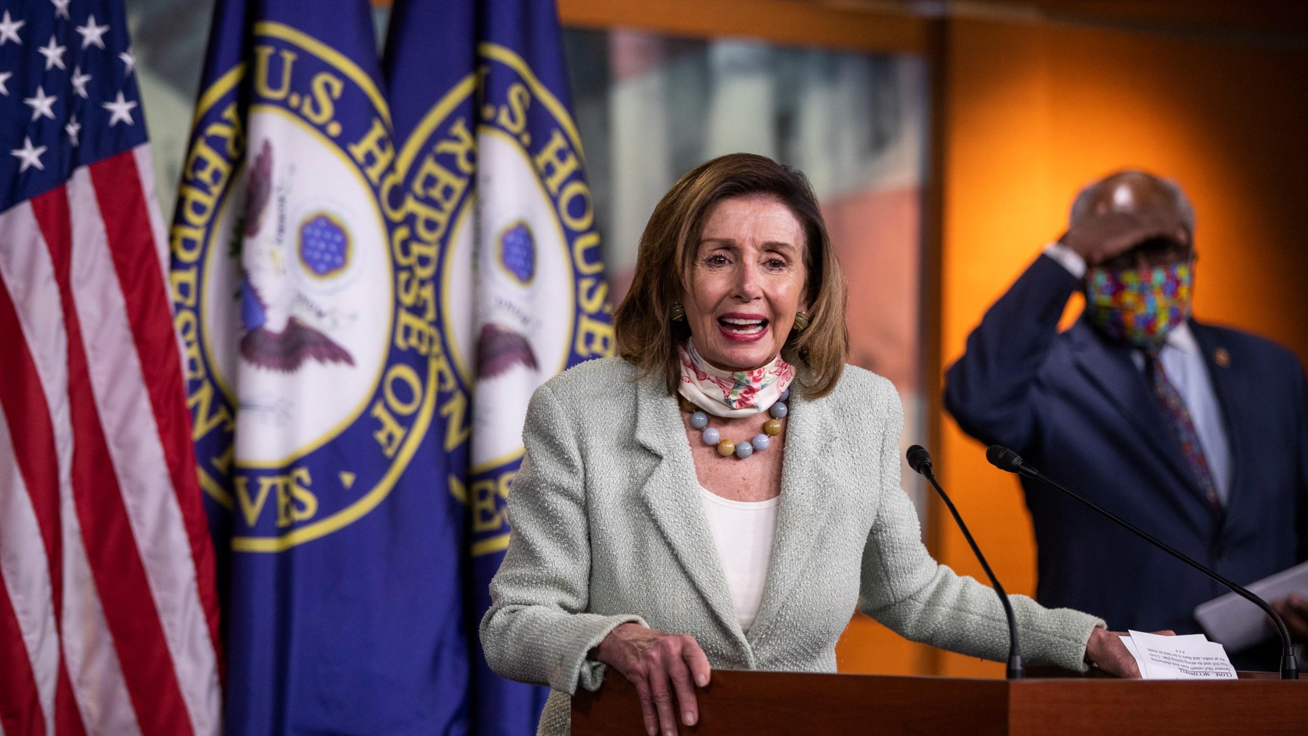 Nancy Pelosi, James Clyburn