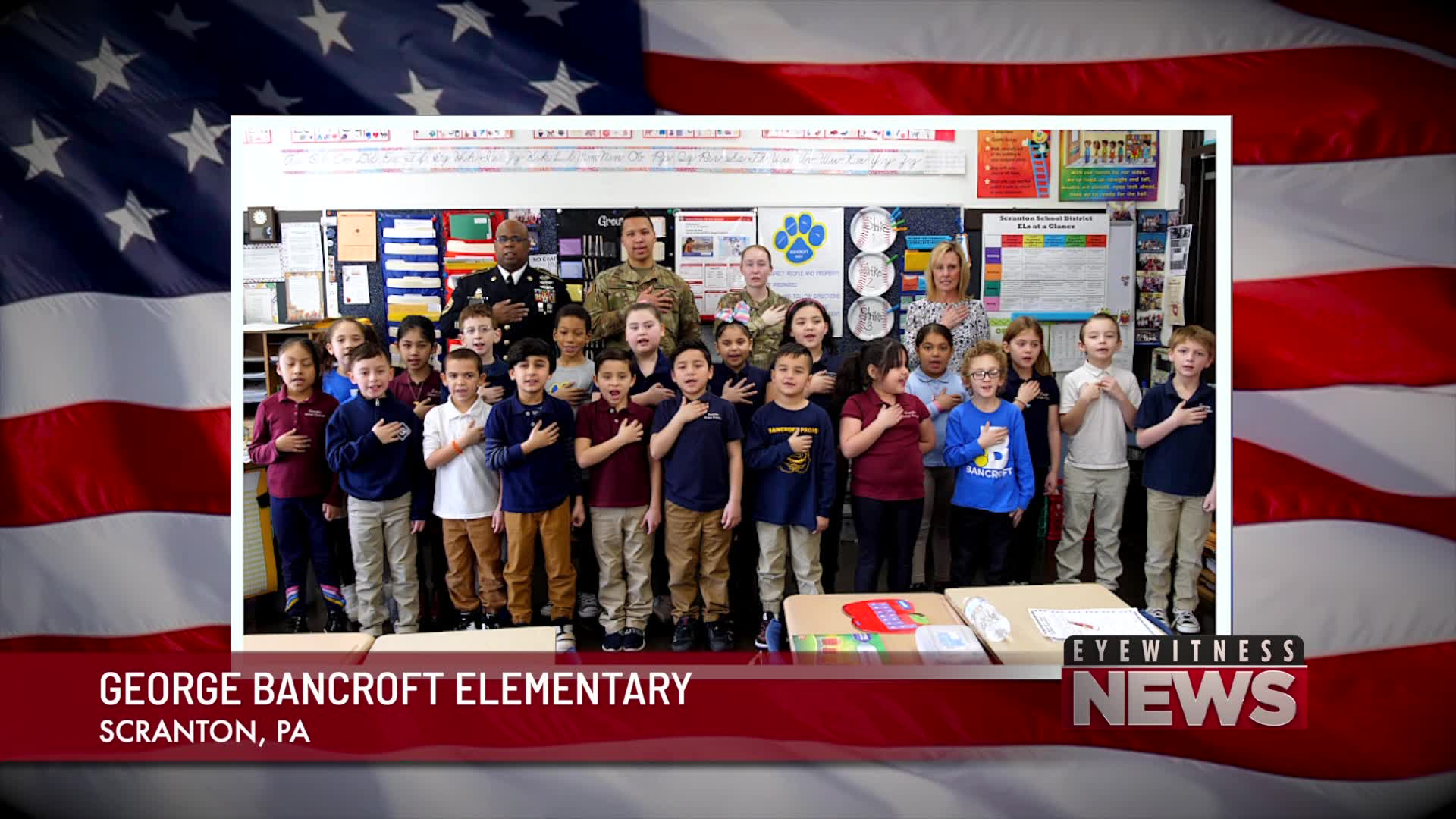 GEORGE BANCROFT ELEMENTARY SECOND GRADE PLEDGE