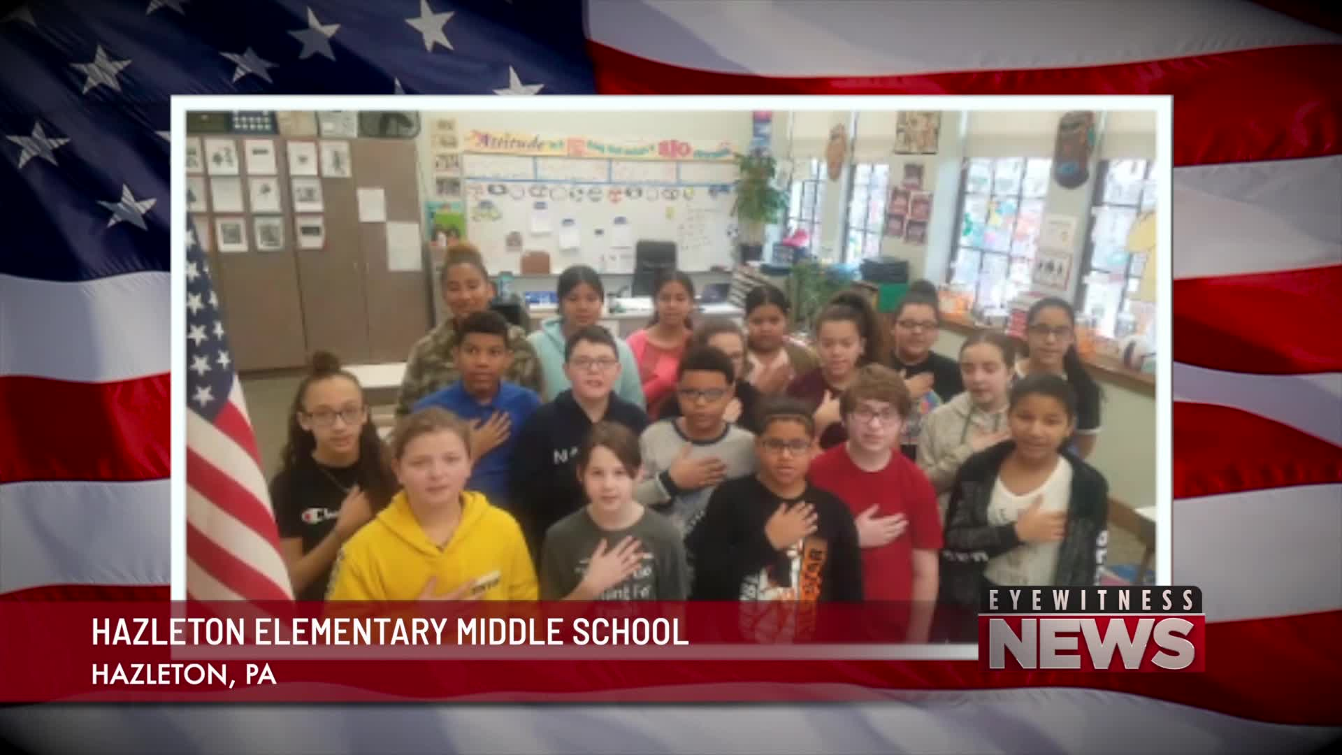 HAZLETON ELEMENTARY MIDDLE SCHOOL PLEDGE