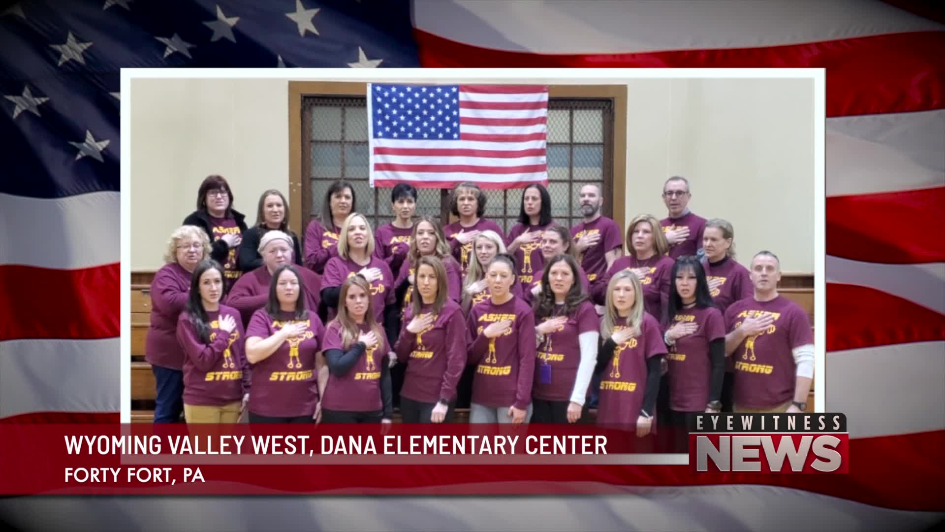 WYOMING VALLEY WEST, DANA ELEMENTARY CENTER PLEDGE
