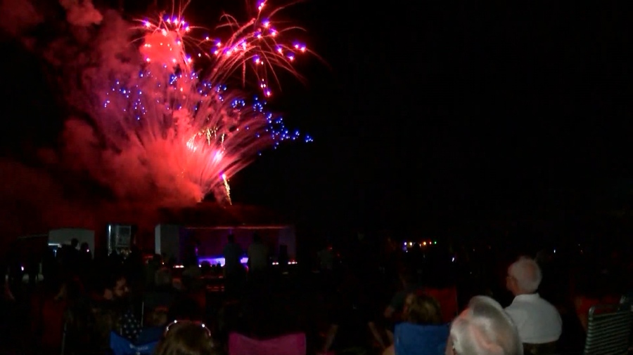 Fireworks show in Lycoming County on schedule for the ...