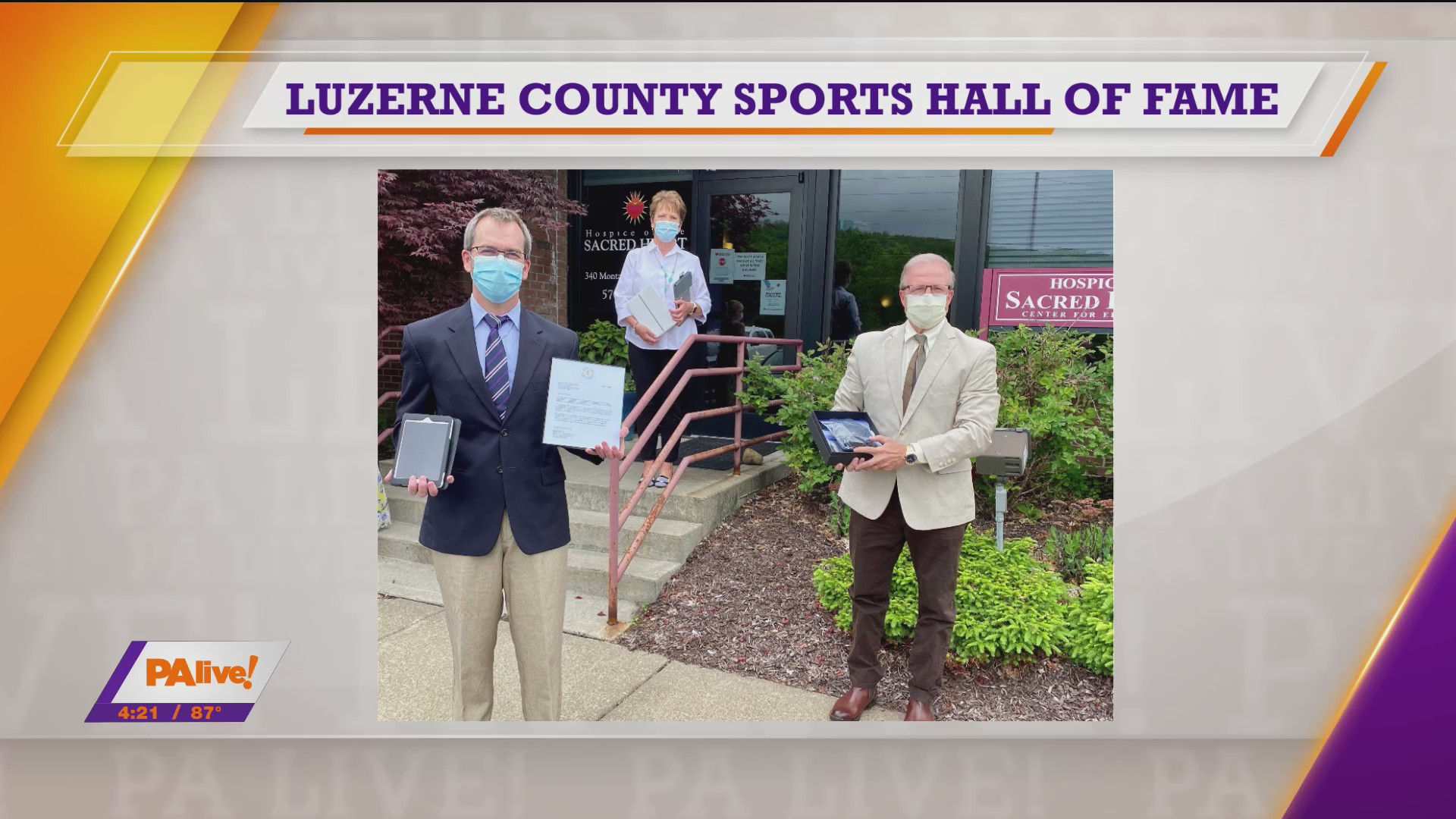 PAlive! Luzerne County Sports Hall of Fame July 31, 2020