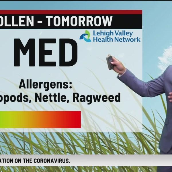Allergy Alert: August 19, 2020