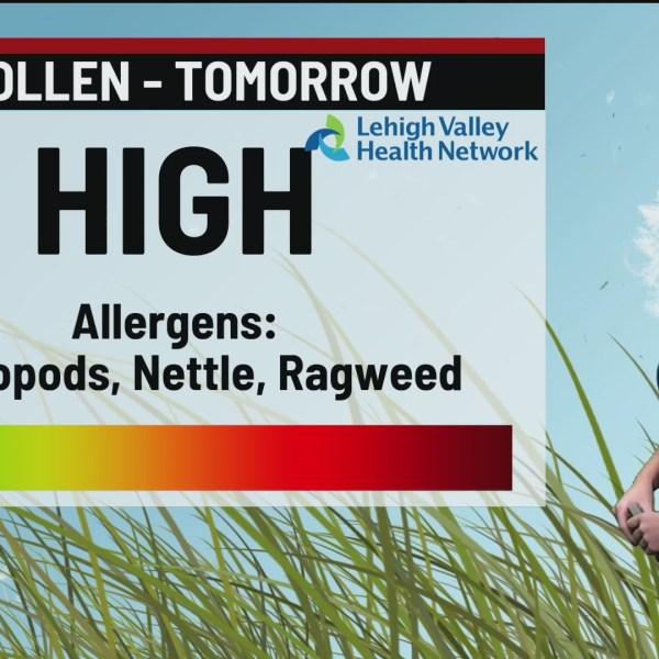 Allergy Alert: August 21, 2020