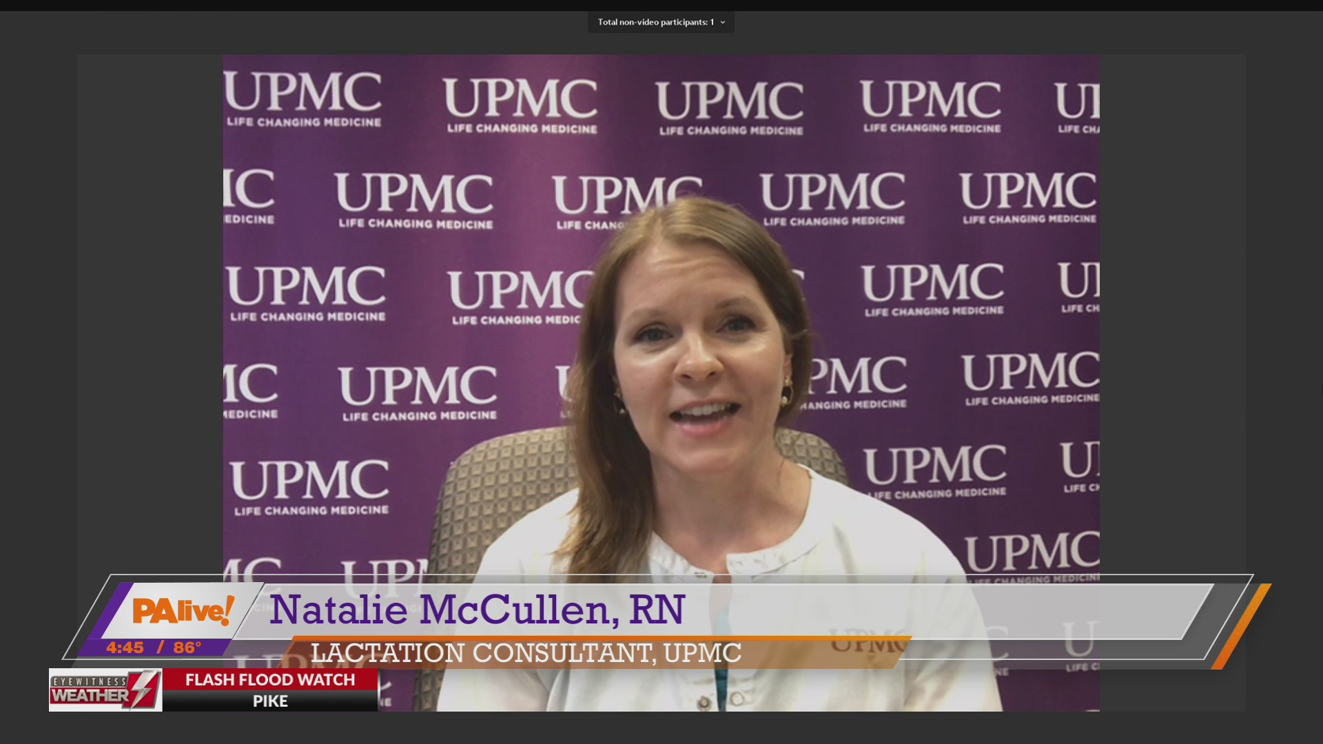 PAlive! UPMC (Breastfeeding) August 3, 2020