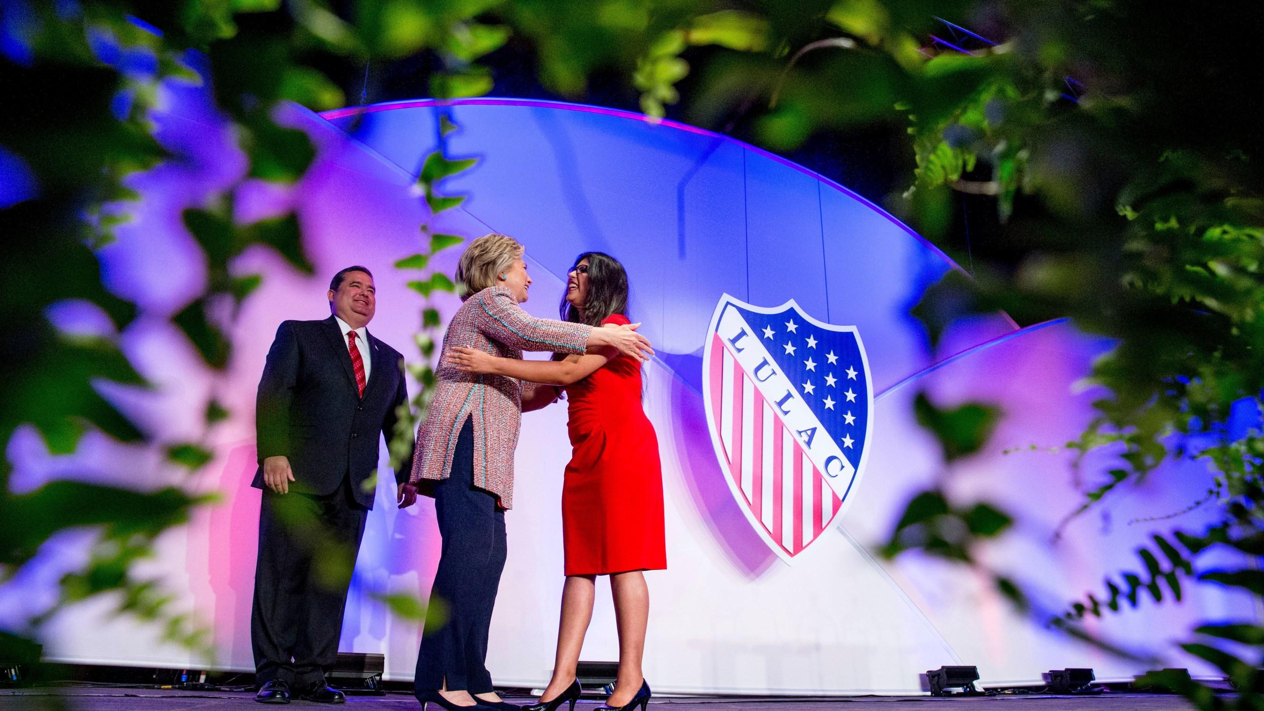 Hillary Clinton, Roger C. Rocha, Lizeth Urdiales