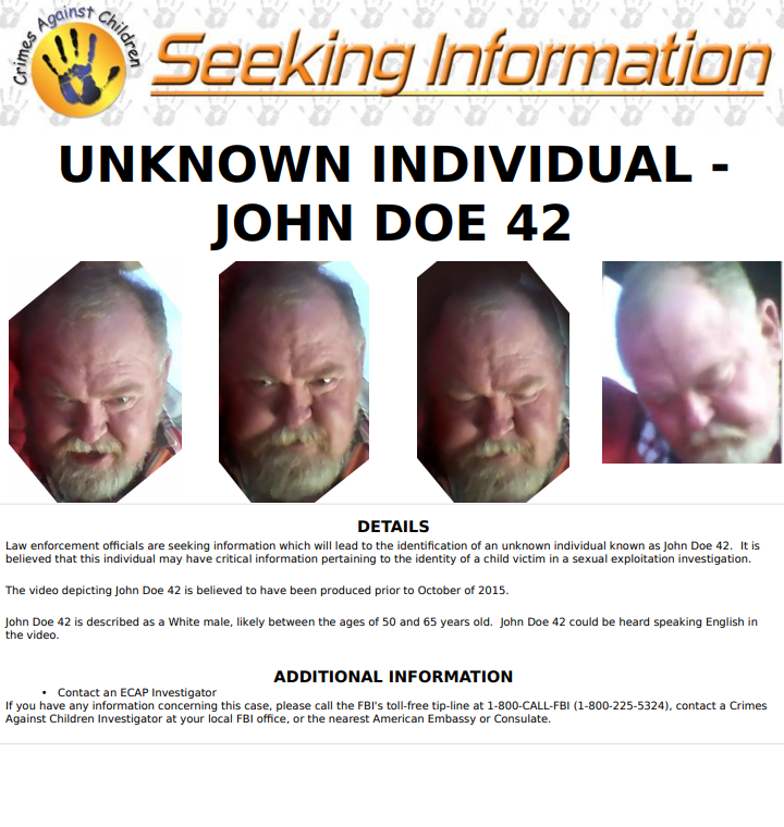 FBI seeking info