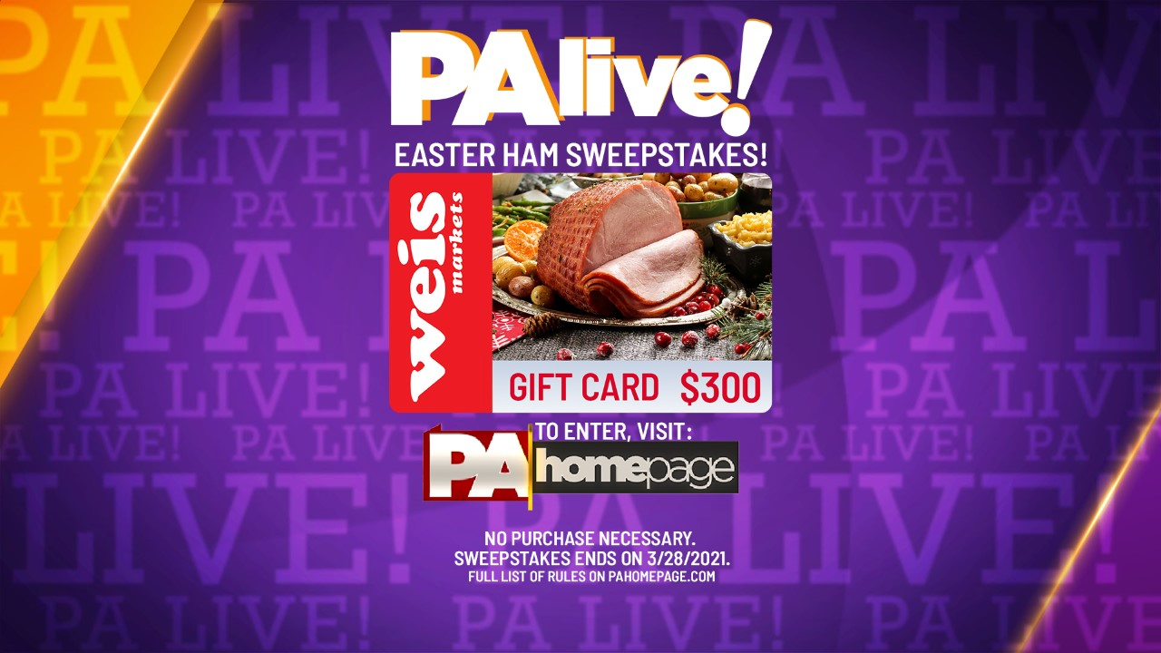 PA live! Easter Ham Dinner Sweepstakes