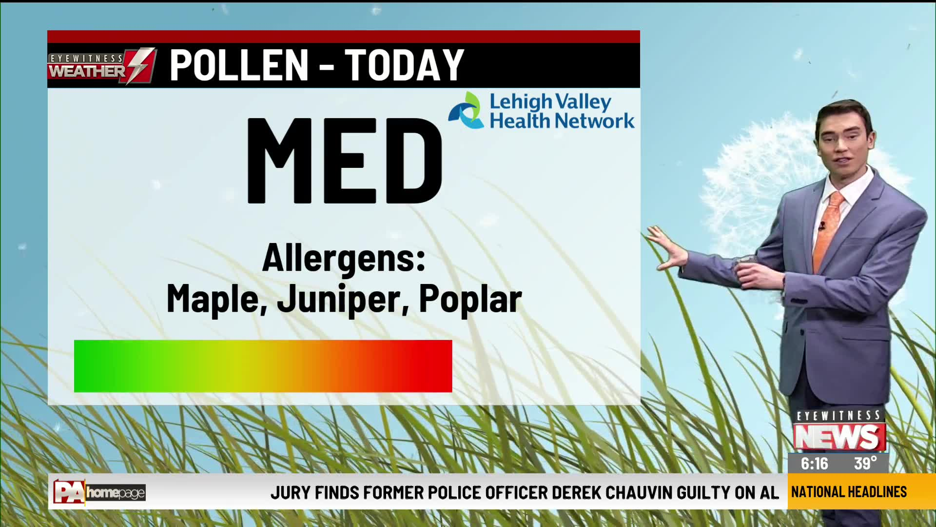 Allergy Alert April 21, 2020