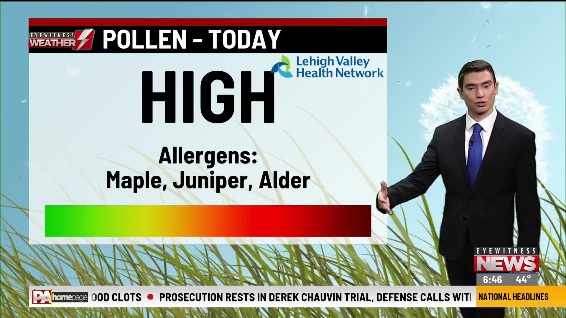 Allergy Alert April 14, 2020