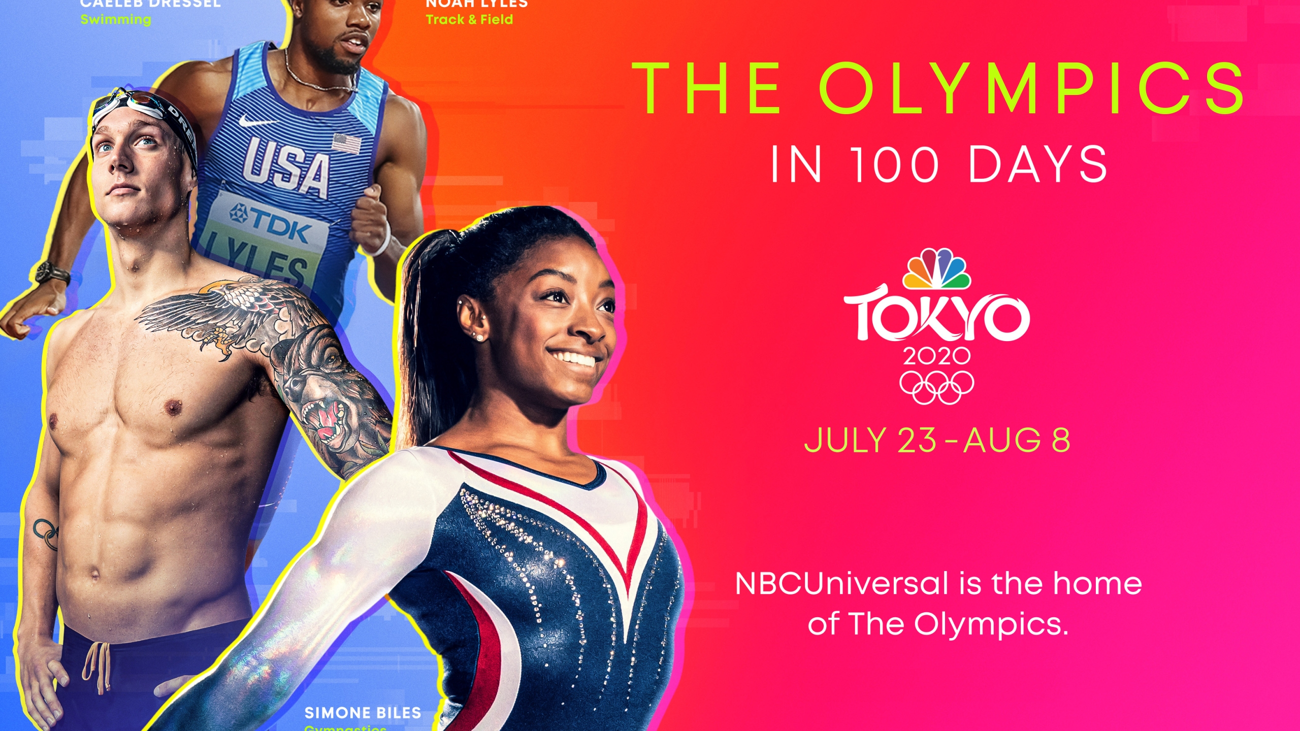#TokyoOlympics in 100 DAYS