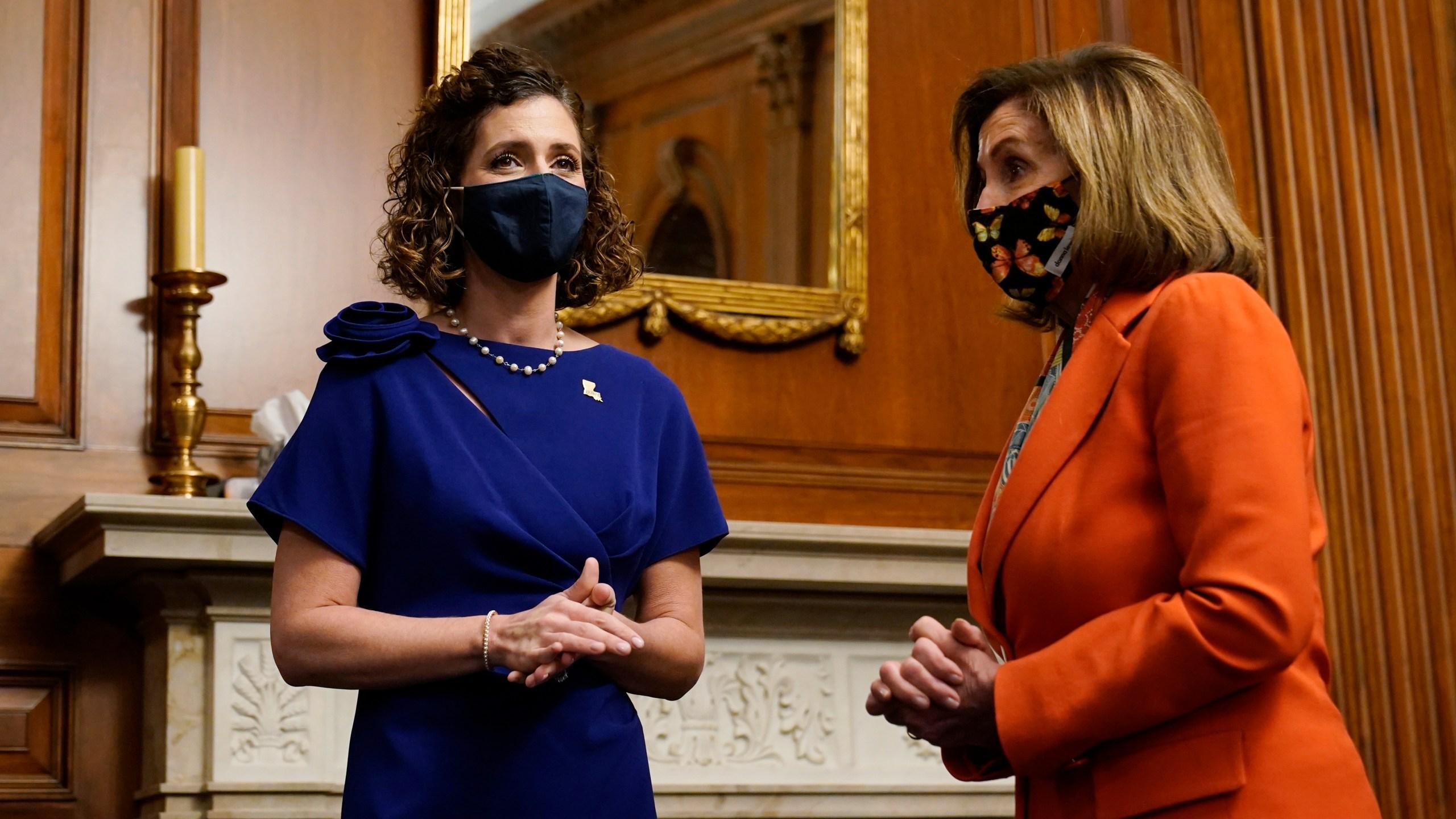 Nancy Pelosi, Julia Letlow