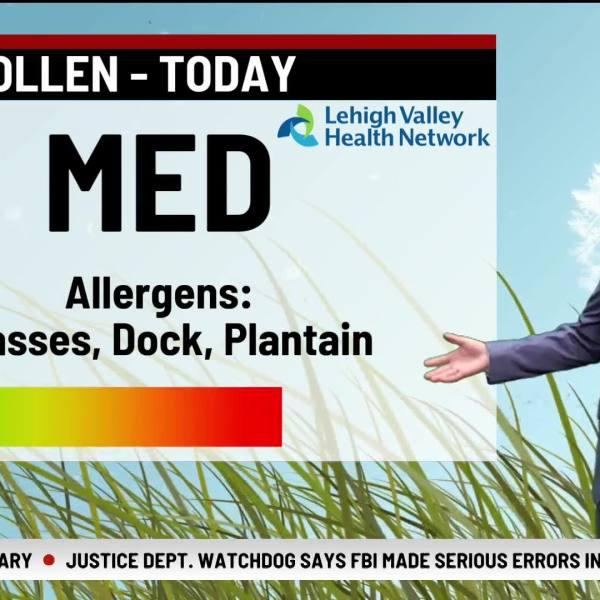 Allergy Alert July 15, 2021